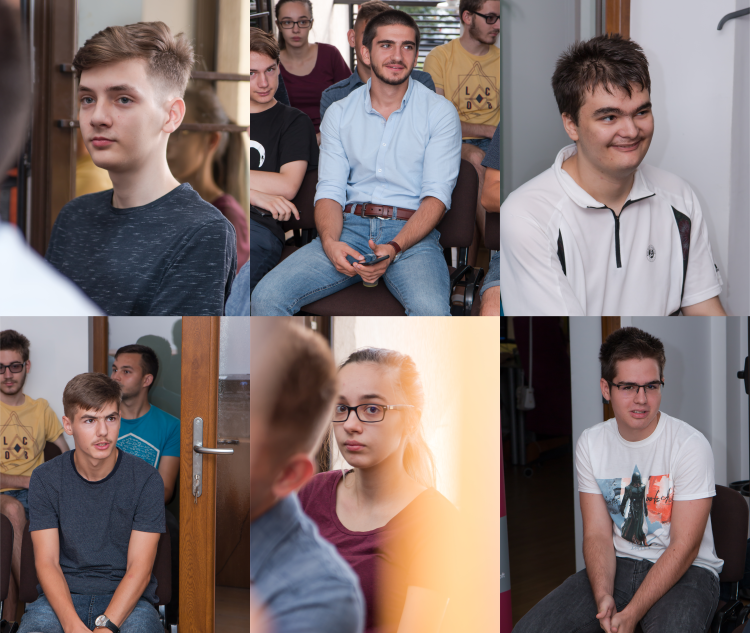 A remarkable experience with the best IT high school students from Cluj county
