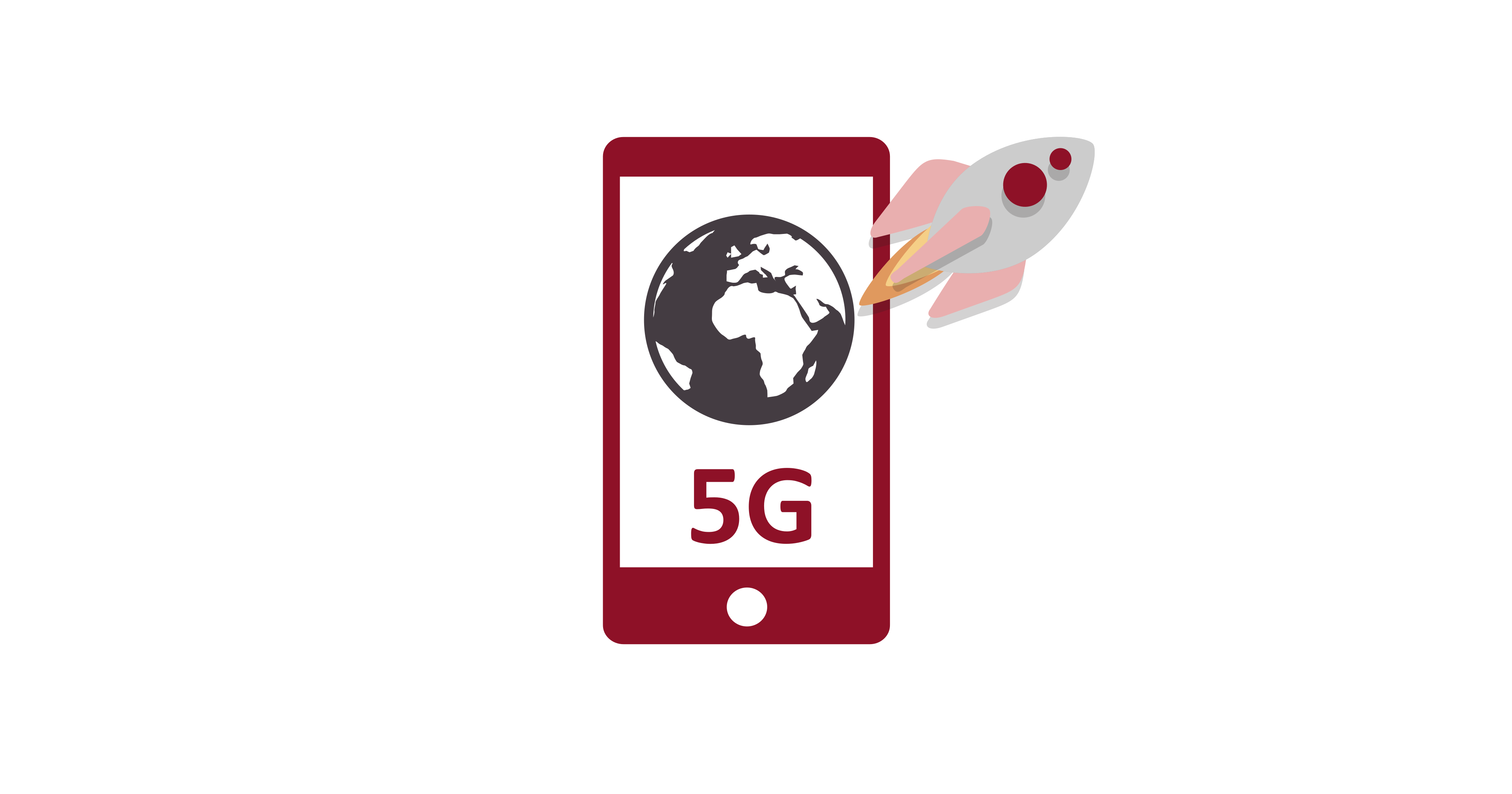 5G service - faster download speeds and more complex mobile internet apps